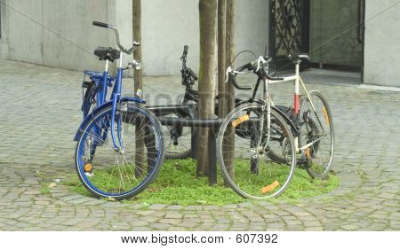 poster of Bicycles In The City