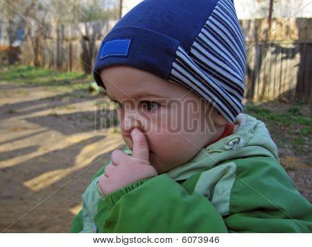 Child Pick Nose
