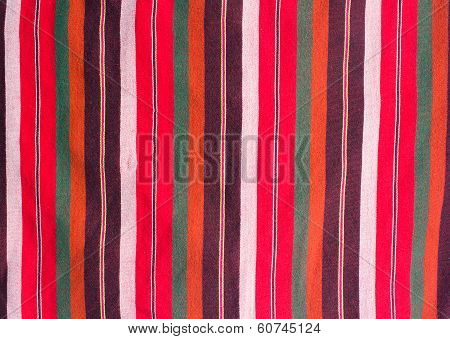 Colorful loincloth fabric background