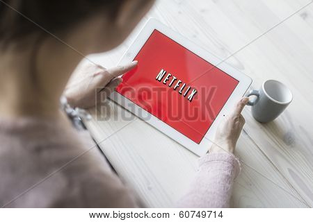 Netflix on tablet pc