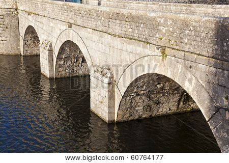 Bridge Of The Castle Of Sully-sur-loire, Loiret, France