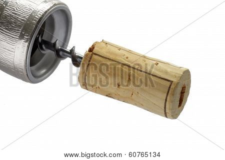 Corkscrew With Cork.