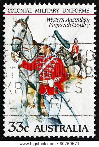Postage Stamp Australia 1985 Western Australian Pinjarrah Cavalr