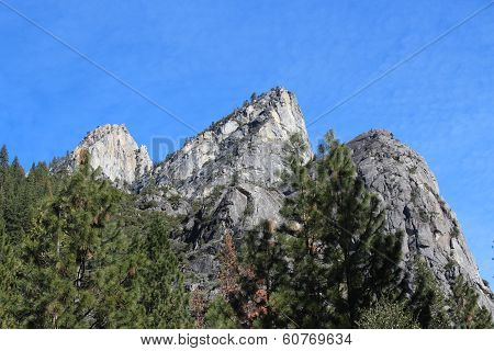 Yosemite National Park Mountain Landscape