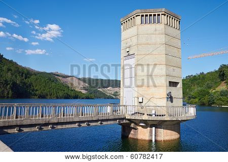 Part Of Hydroelectric Power Station, Geres, Portugal