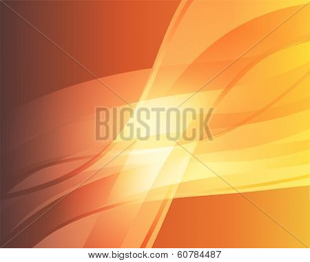 Abstract Orange Background 3
