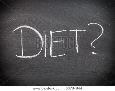 Diet Question Or Choice