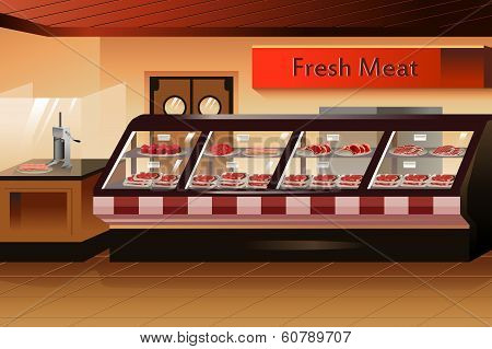 Grocery Store: Meat Section