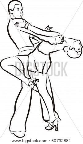latin dance - ballroom dancing
