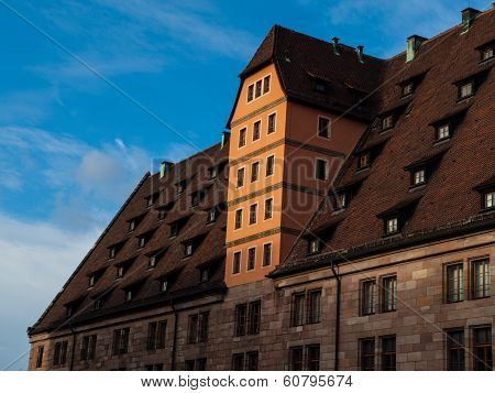 Traditional Bavarian Rooftop (nuremberg, Germany)