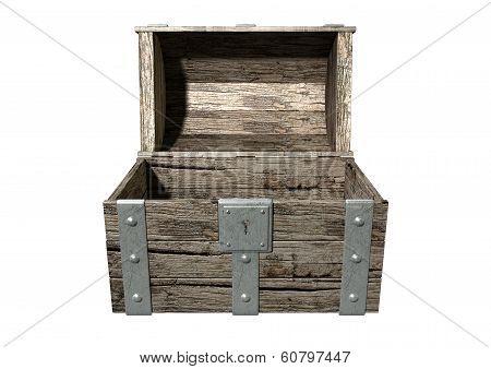 Treasure Chest Open Empty