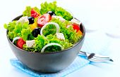 stock photo of greek food  - Salad - JPG