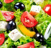 foto of greeks  - Salad - JPG