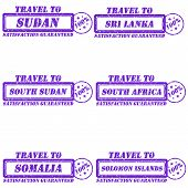 foto of sudan  - Set of stamps travel to sudan - JPG