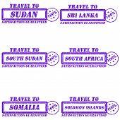 pic of sudan  - Set of stamps travel to sudan - JPG