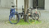 Bicycles In The City poster