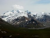picture of denali national park  - Beautiful glacier - JPG