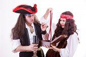 Two Pirates Found Box Of Tresure poster