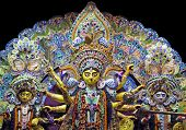 pic of durga  - Deity of Maa Durga - JPG