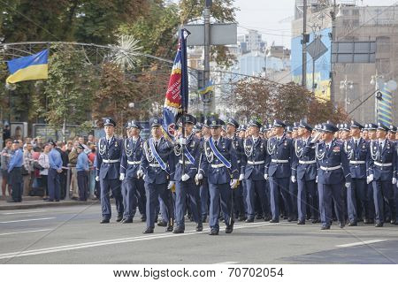 Cadets Of The Ukrainian Police Academy