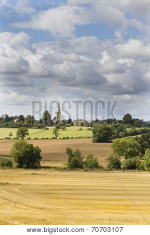 Cotswold Countryside,gloucestershire, Uk