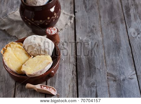 Potato In Jacket Background