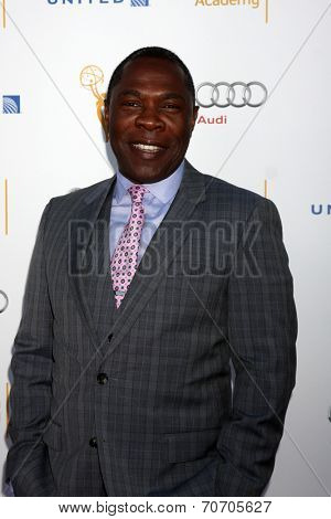 LOS ANGELES - AUG 23:  Michael Potts at the Television Academy's Perfomers Nominee Reception at Pacific Design Center on August 23, 2014 in West Hollywood, CA