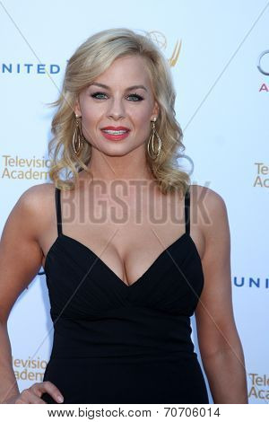 LOS ANGELES - AUG 23:  Jessica Collins at the Television Academy's Perfomers Nominee Reception at Pacific Design Center on August 23, 2014 in West Hollywood, CA