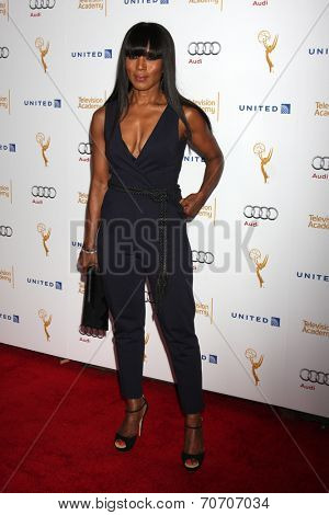 LOS ANGELES - AUG 23:  Angela Bassett at the Television Academy's Perfomers Nominee Reception at Pacific Design Center on August 23, 2014 in West Hollywood, CA