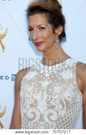 LOS ANGELES - AUG 23:  Alysia Reiner at the Television Academy's Perfomers Nominee Reception at Pacific Design Center on August 23, 2014 in West Hollywood, CA