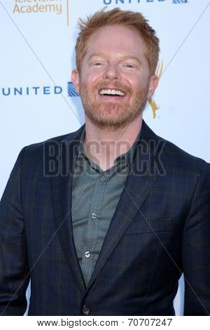 LOS ANGELES - AUG 23:  Jesse Tyler Ferguson at the Television Academy's Perfomers Nominee Reception at Pacific Design Center on August 23, 2014 in West Hollywood, CA