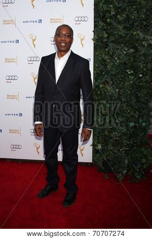 LOS ANGELES - AUG 23:  Joe Morton at the Television Academy's Perfomers Nominee Reception at Pacific Design Center on August 23, 2014 in West Hollywood, CA