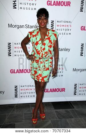 LOS ANGELES - AUG 23:  Tichina Arnold at the 3rd Annual Women Making History Brunch at Skirball Center on August 23, 2014 in Los Angeles, CA
