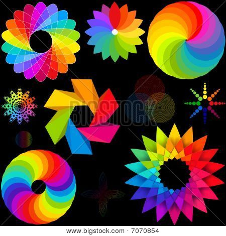 Various Colour Radials