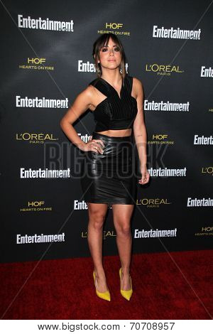 LOS ANGELES - AUG 23:  Chloe Bennet at the 2014 Entertainment Weekly Pre-Emmy Party at Fig & Olive on August 23, 2014 in West Hollywood, CA