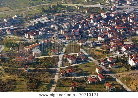 The city of Rousanou , Greece