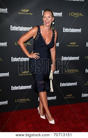 LOS ANGELES - AUG 23:  Natasha Henstridge at the 2014 Entertainment Weekly Pre-Emmy Party at Fig & Olive on August 23, 2014 in West Hollywood, CA