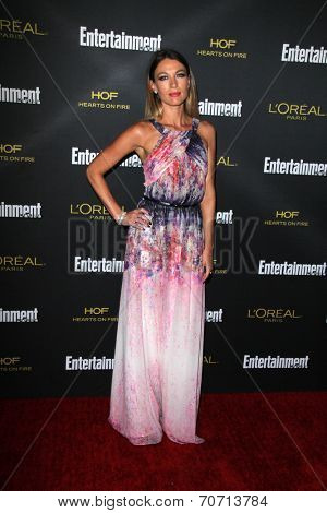 LOS ANGELES - AUG 23:  Natalie Zea at the 2014 Entertainment Weekly Pre-Emmy Party at Fig & Olive on August 23, 2014 in West Hollywood, CA