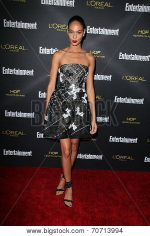 LOS ANGELES - AUG 23:  Joan Smalls at the 2014 Entertainment Weekly Pre-Emmy Party at Fig & Olive on August 23, 2014 in West Hollywood, CA