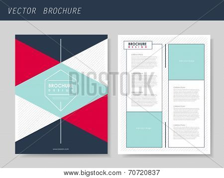 Geometric Style Flyer Template For Business