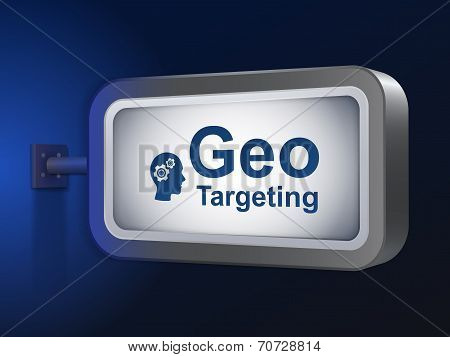 Geo Targeting Words On Billboard