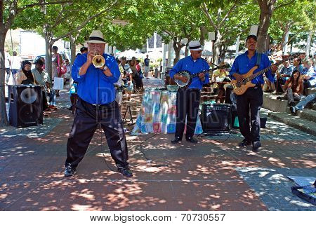 African Street Jazz Band, Capetown, South Africa.