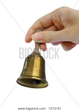 Bell and hand