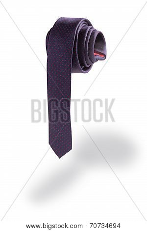 Necktie in the shape of a penis