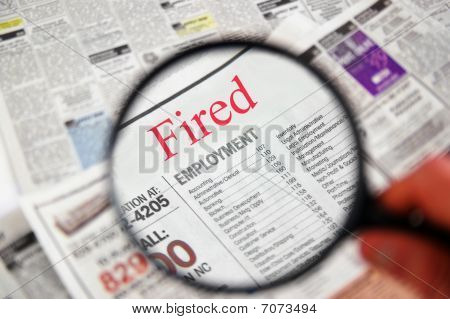 Jobs Hunt Fired