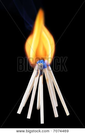 Burning Matchsticks