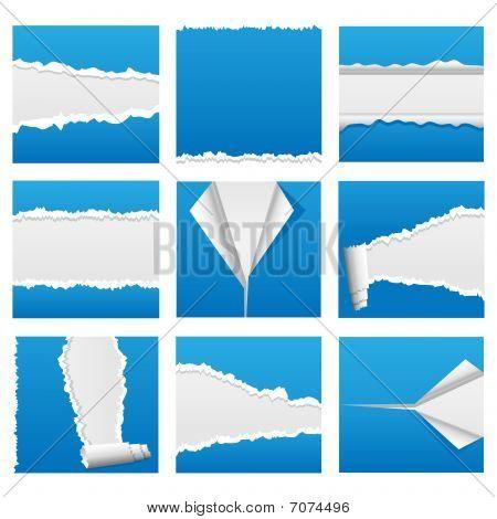 Torn Paper - Set 1