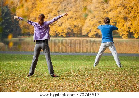 Physical Exercices Outdoors