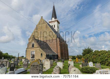 Church Of Den Hoorn Texel