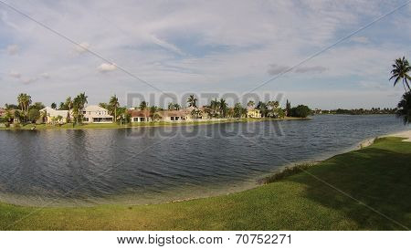 Suburban Waterfront Homes